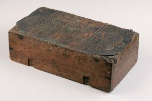 wooden box altar