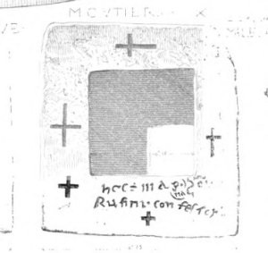 drawing of a tablet altar